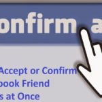 ccept reject facebook friends request once