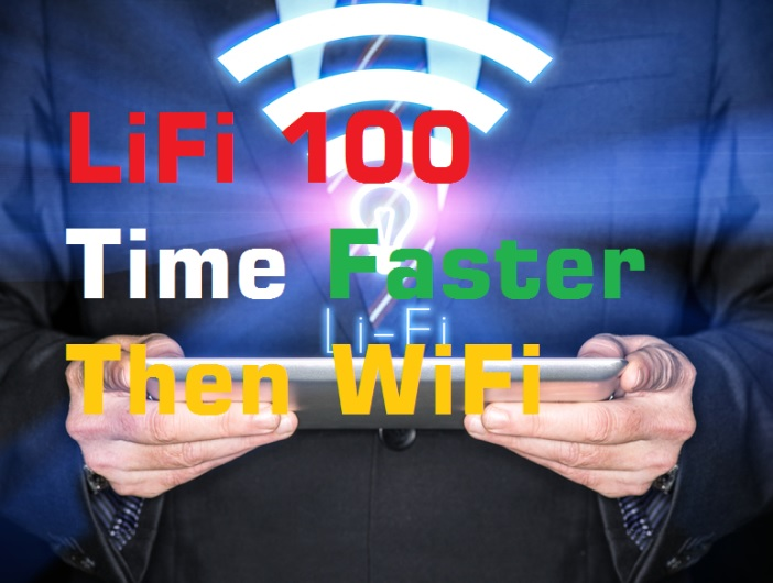 LiFi 100 time Faster then WiFi