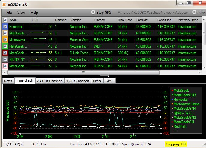 wifi analyzer download for windows 7