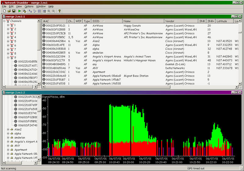 wifi analyzer hidden ssid