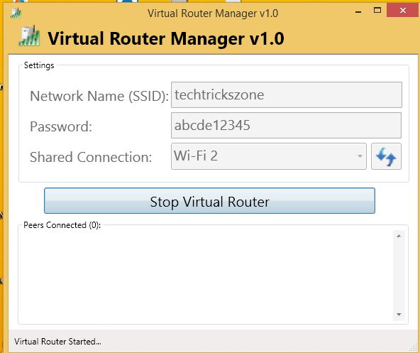 virtual router plus for windows 8.1 laptop