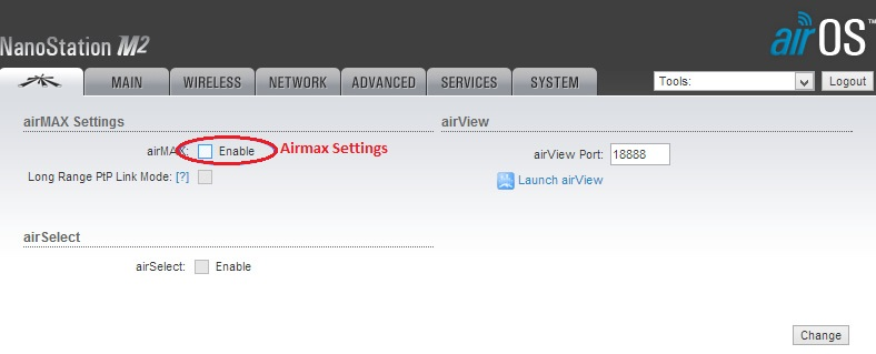 How to Enable Airmax in UBNT