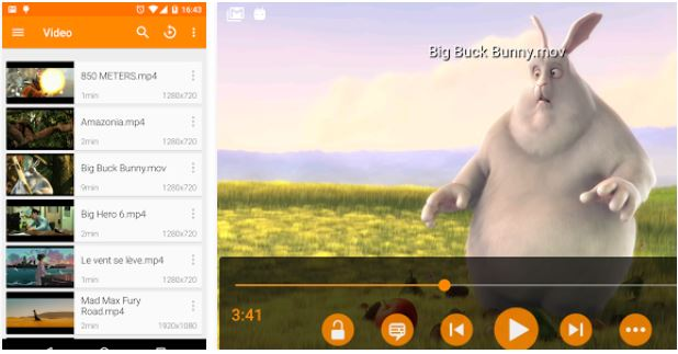 VLC Payer for Smart phone