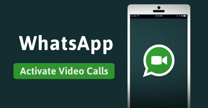 WhatsApp Video Calling Enable