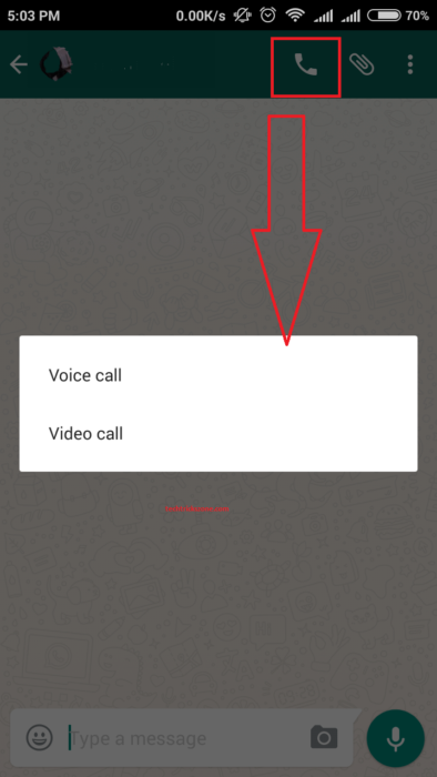 How to Enable Whatsapp Video Calling Feature