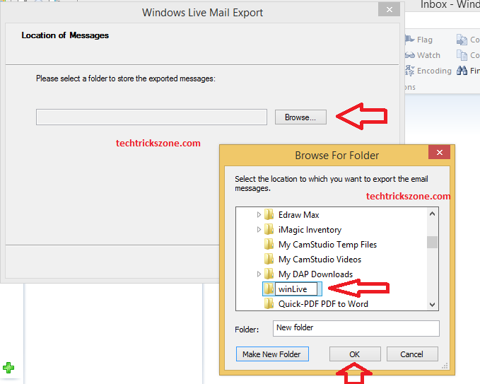 windows live mail backup contacts 2011