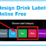 Bottle Label Maker online free