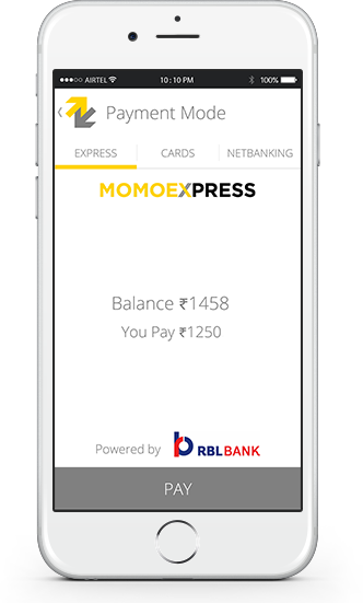 momoe mobile wallet in india