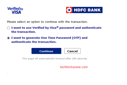 Bank Final Authentication For OTP