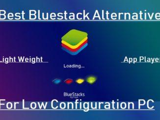 best free Bluestacks Alternative app player