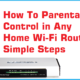 Binatone wr1505 N3 Parental control configuration