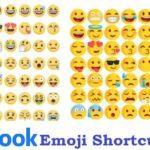 List of Facebook Shortcut Keys and Facebook Emoticons