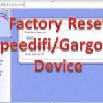 Factory reset Gargoyle wifi router