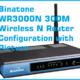 Binatone WR3000N 300M Wireless N Router Configuration