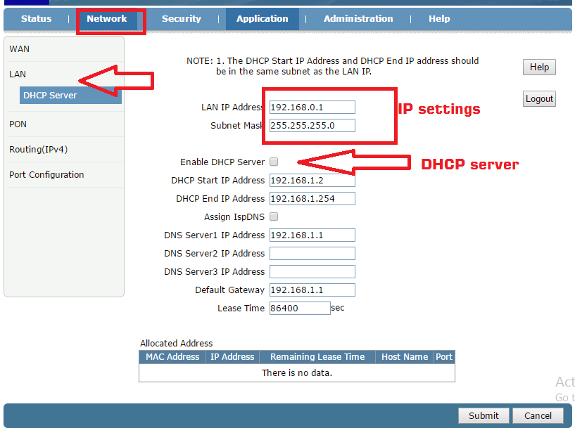1Port GEPON ONT ONU Configuration Step to Step (with Picture)
