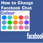 change Facebook chat color and Emoticons emoji