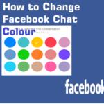 change Facebook chat color and Emoticons emoji