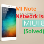 RedMi Note 3 Not Showing network