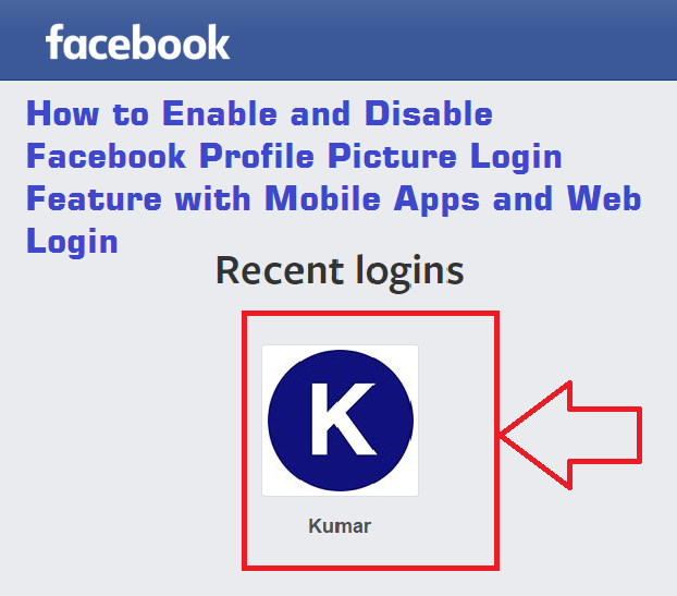 facebook profile picture login