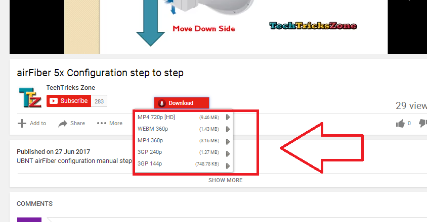 youtube video download direct from site