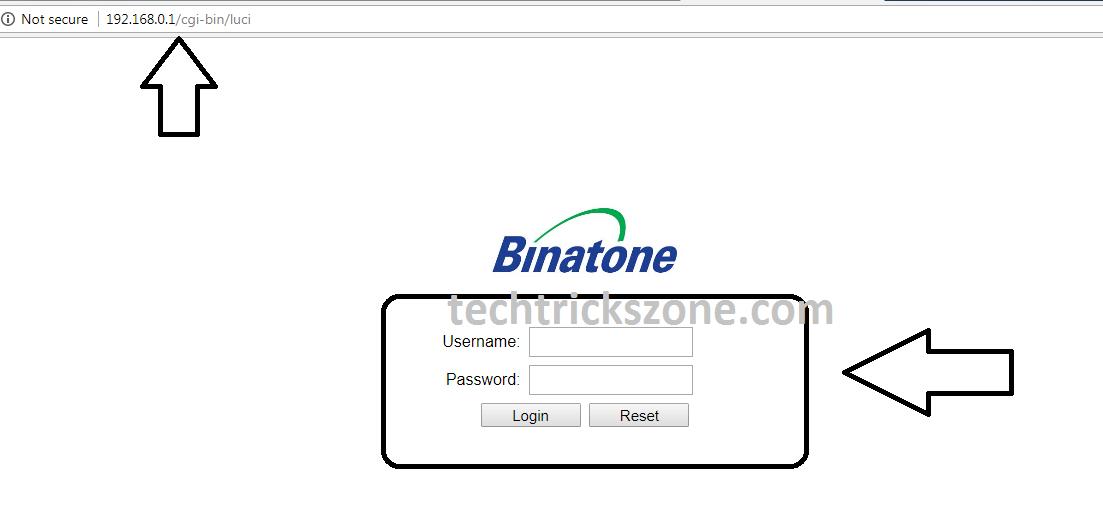 How to Port Forward in Binatone WR3010