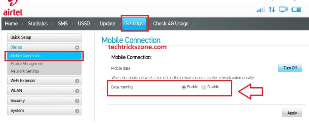 airtel 4 wifi hotspot balance check