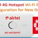 Airtel 4G hotspot router configuration first time