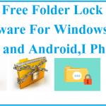 Best free Folder Lock software