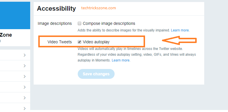 turn off twitter video autoplay iphone