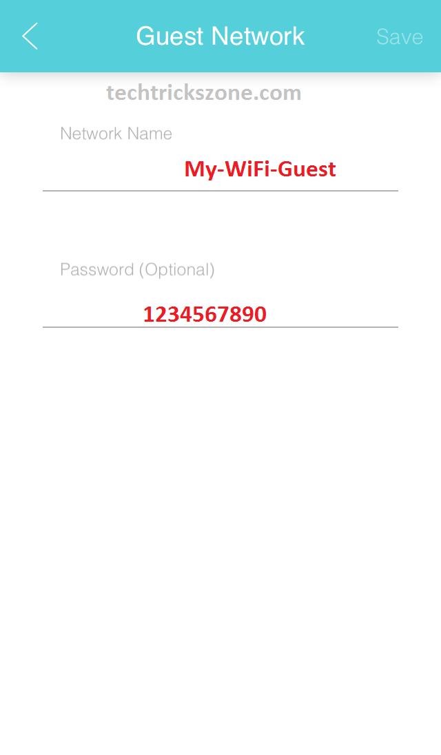 tplink m5 guest network settings