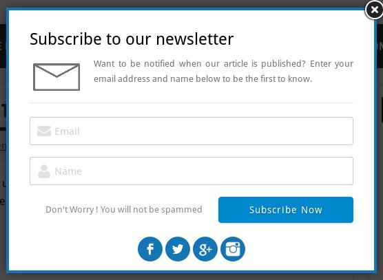 best free email subscription plugin wordpress
