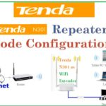 Tenda N301 Wi-Fi Repeater mode