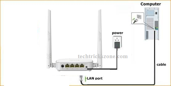 how to connect jiofi to tenda router