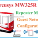 mercusys mw325r repeater mode for home