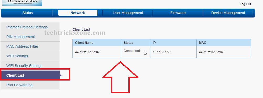 How to do port forwarding on Jiofi M2S router