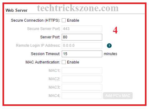 how to enable remote setting in tp-link cpe220