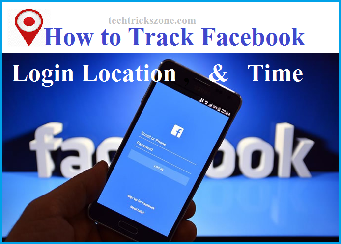 how to check facebook login location
