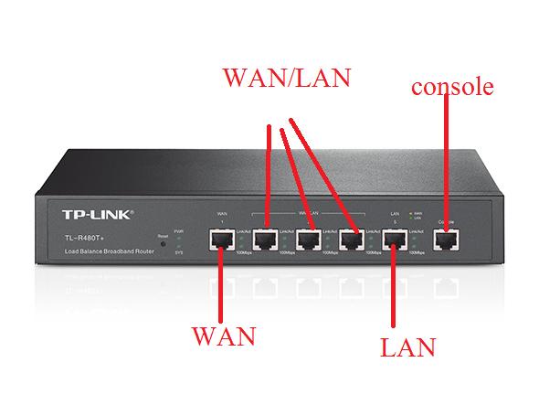TP-LINK TL-R470T+ Load Balance Router Setup