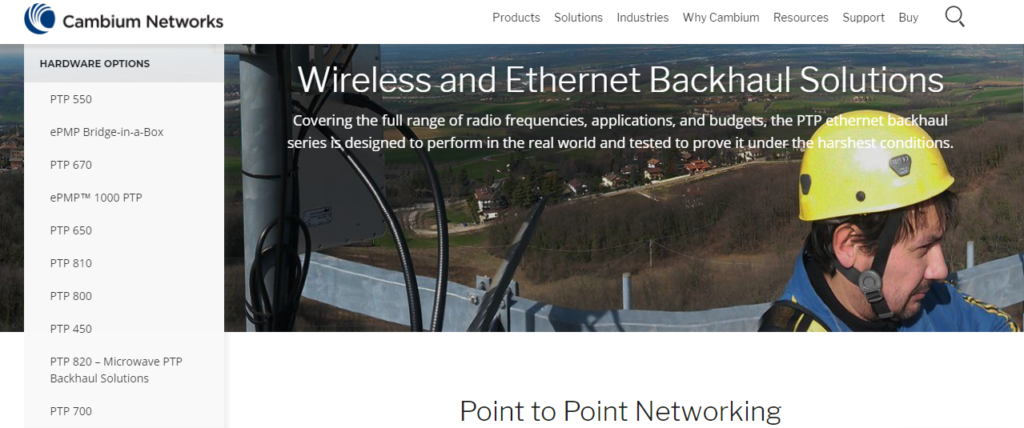 short range point to point wireless bridge