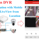 how to configure cp plus dvr for mobile