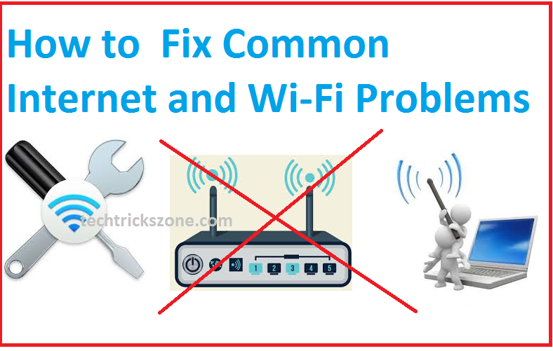 10 Most common Wi-Fi and internet problems