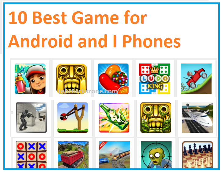10 best free android game