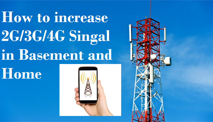 How to increase mobile signal up to 90% in Basement and Home