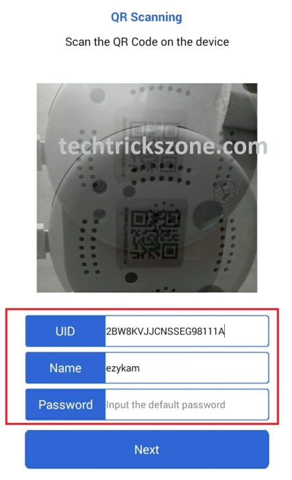 how to upgrade CP Plus ezykam firmware