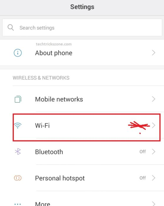 forgot wifi password but still connected android