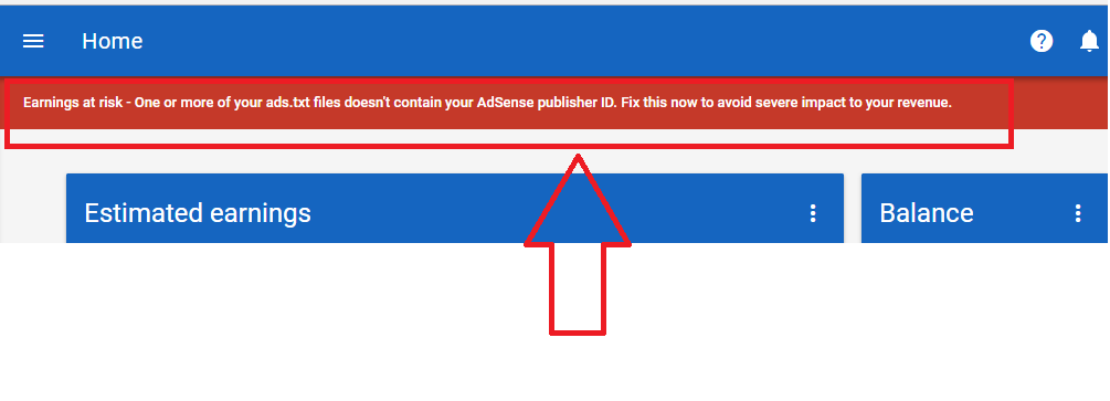 publisher id missing from ads txt files