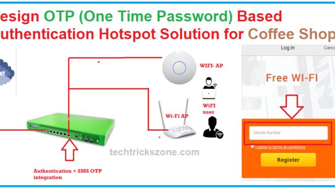 OTP based hotspot gateway