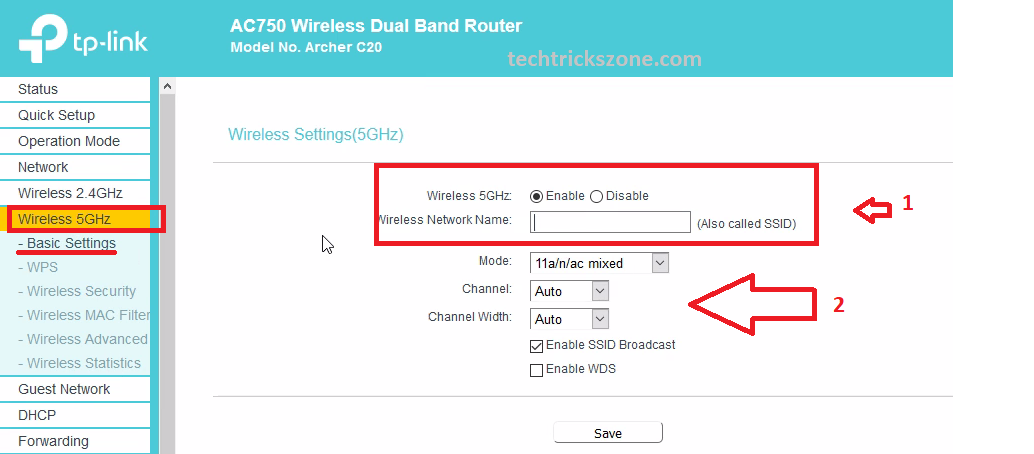 how to connect tp link ac750