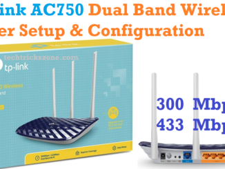 Tp-Link AC750 configuration