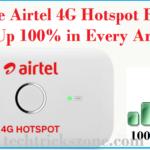 airtel 4g hotspot router signal boost